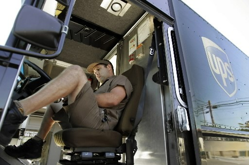 Le groupe américain de messagerie United Parcel Service (UPS) ( (Photo: AP)