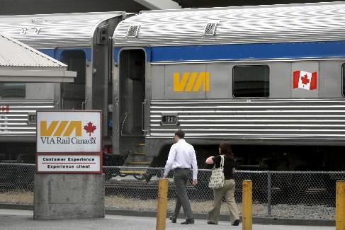 Certains des employés de Via Rail ont voté en faveur de la grève,... (Photo: PC)
