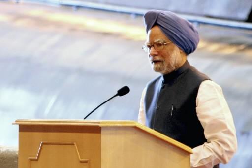 Le premier ministre indien Manmohan Singh.... (Photo AP)