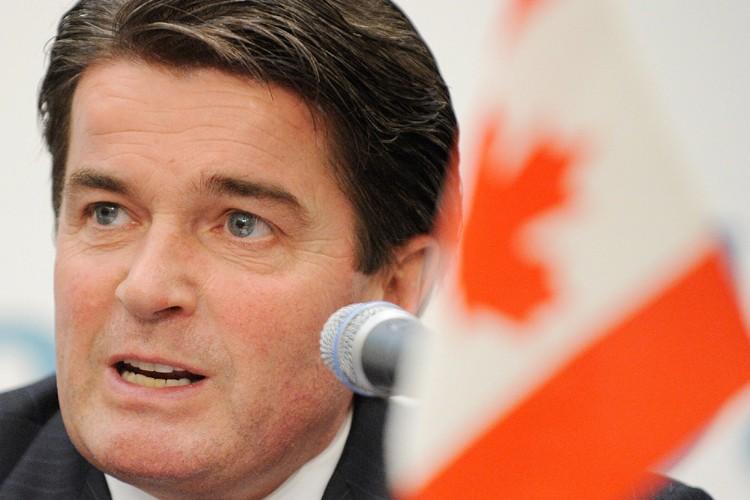 Le ministre d'Etat aux Sports, Gary Lunn.... (Photo: AFP)