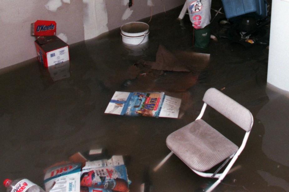 Les pluies diluviennes de dimanche soir continuent de... (Archives La Presse)