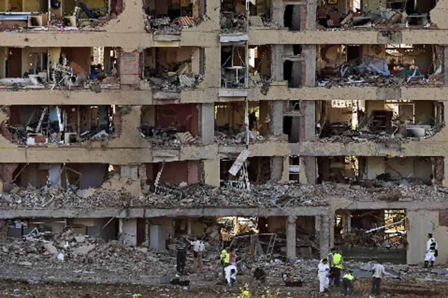 Les dégâts matériels causés par la déflagration sont... (Photo Reuters)