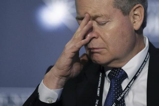 James Mulva, le pdg de ConocoPhillips... (Photo AFP)