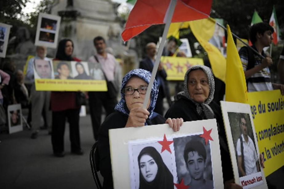 Ces femmes ont manifesté dans les rues de... (Photo AFP)