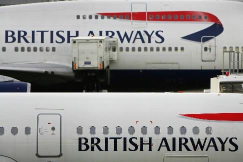 Le personnel de cabine de British Airways a entamé samedi une... (Photo: AFP)