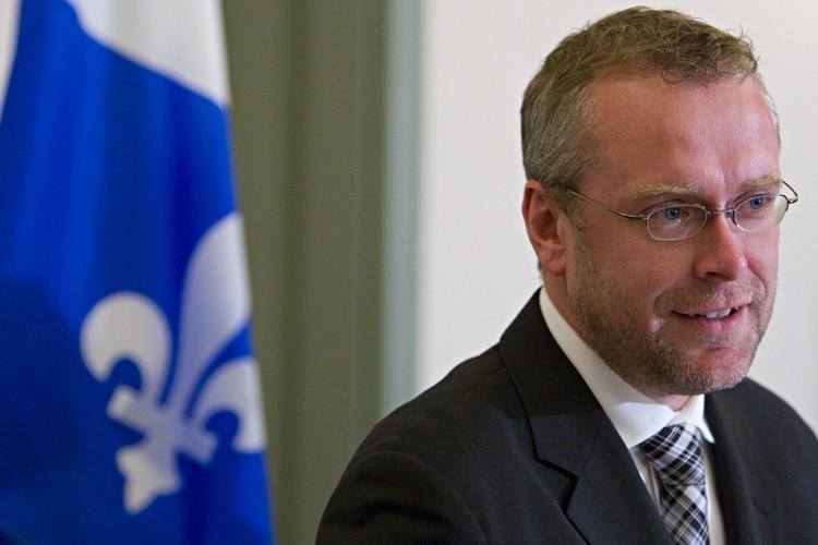 le ministre des Affaires intergouvernementales, Claude Béchard... (Photo: François Roy, La Presse)