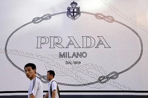 Un magasin Prada en Chine... (Photo: AP)