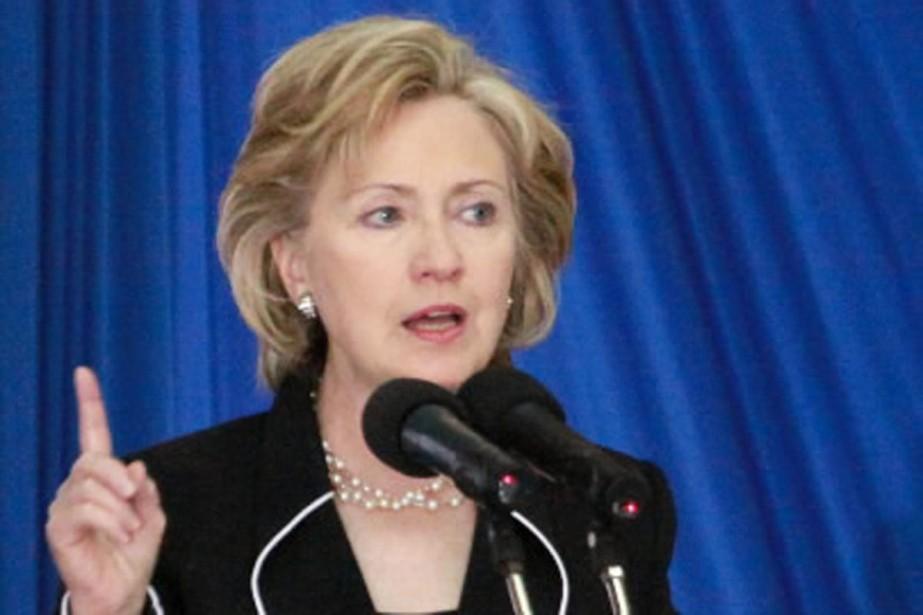 Mme Clinton a aussi appelé les pays africains... (Photo AP)