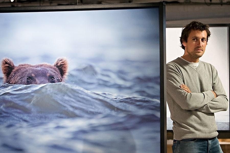Réputé photographe français de 33 ans, Vincent Munier... (Photo: David Boily, La Presse)