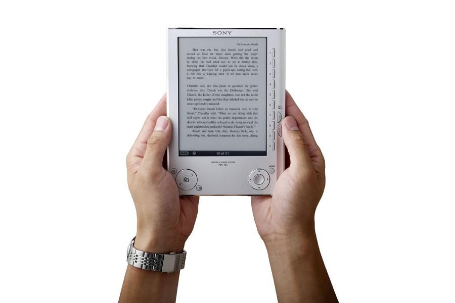 Le nouveau lecteur de poche de Sony.... (Photo: Reuters)