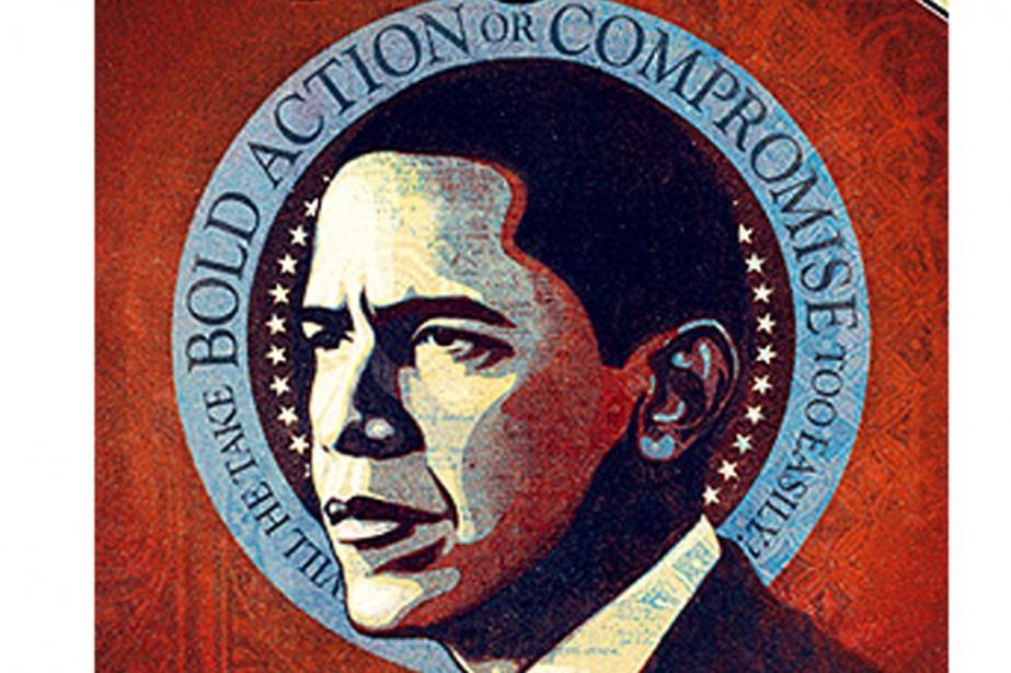 Le portrait de Barack Obama à la Une...