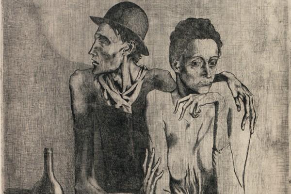La gravure Le Repas frugal de Picasso avait...