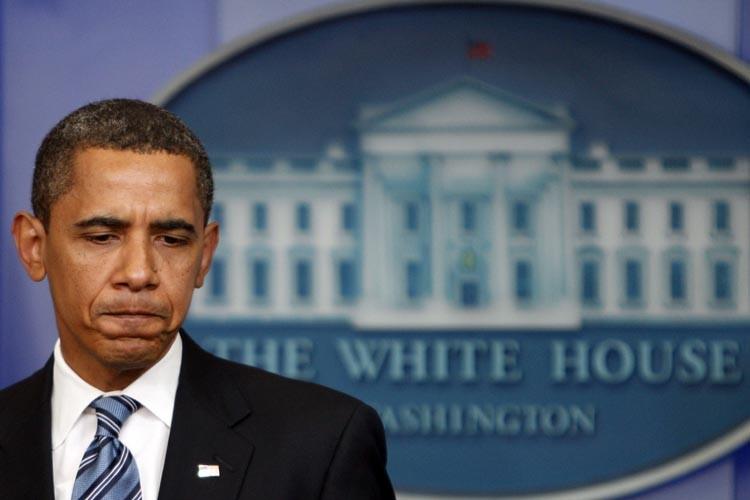 Un policier ayant voulu vérifier si le président Barack Obama... (Photo: Reuters)