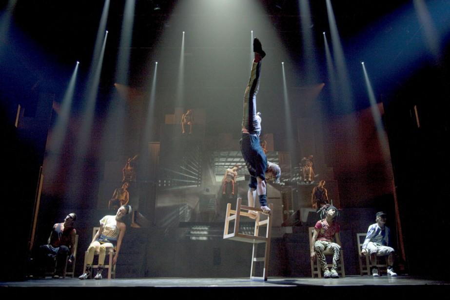 ID est un spectacle de style urbain qui... (Photo: fournie par le Cirque Éloize)