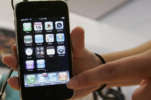 lL'iPhone, propose aux utilisateurs de suivre en temps réel... (Photo: AP)