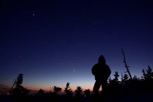 Observation des étoiles au parc national du Mont-Mégantic.... (Photo: Parc National du Mont-Méantic)