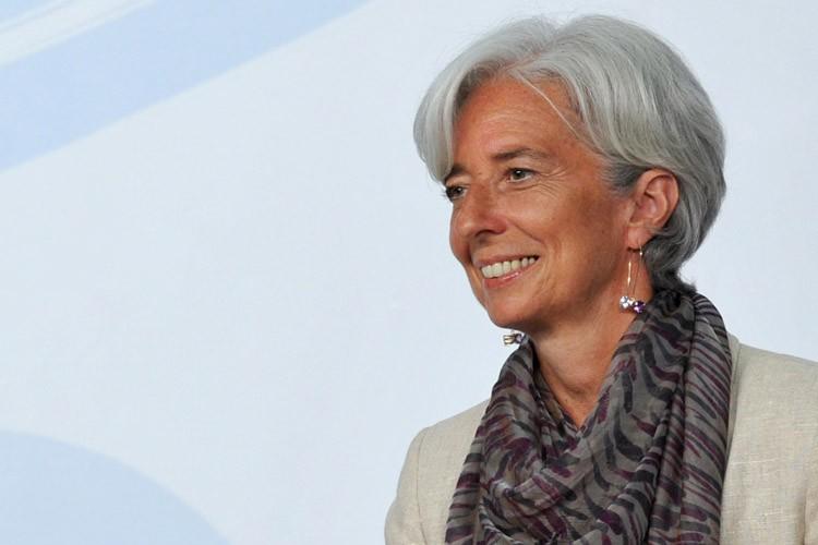 La ministre française de l'Économie, Christine Lagarde.... (Photo: AFP)