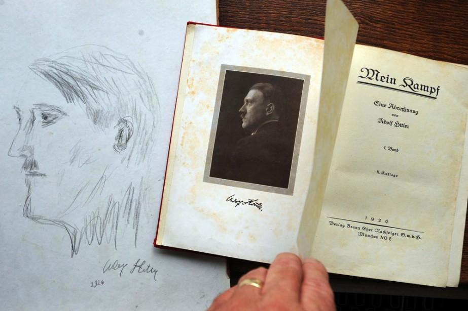 Le livre d'Adolf Hitler, Mein Kampf, va être publié pour la... (Photo: AP)