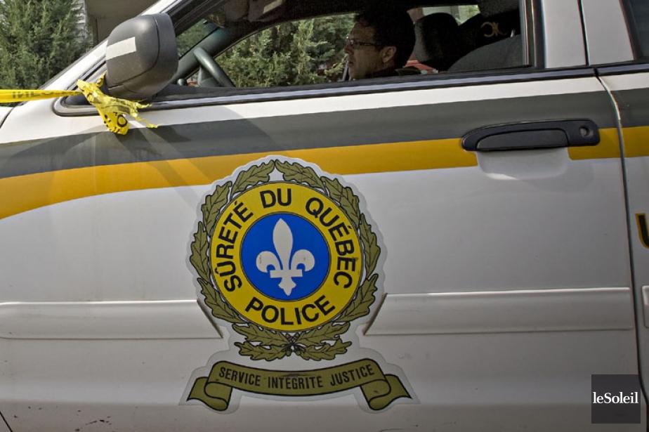 La Sûreté du Québec recherche trois hommes soupçonnés... (Photothèque Le Soleil)