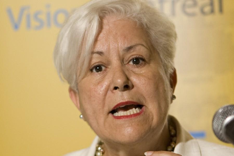 Louise Harel... (Photo: David Boily, La Presse)