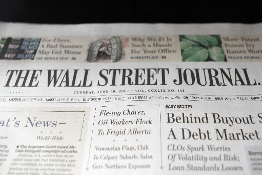 Le Wall Street Journal.... (Photo Reuters)