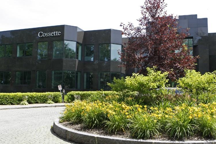 Le siège social de Cossette, à Québec.... (Photo: Le Soleil)
