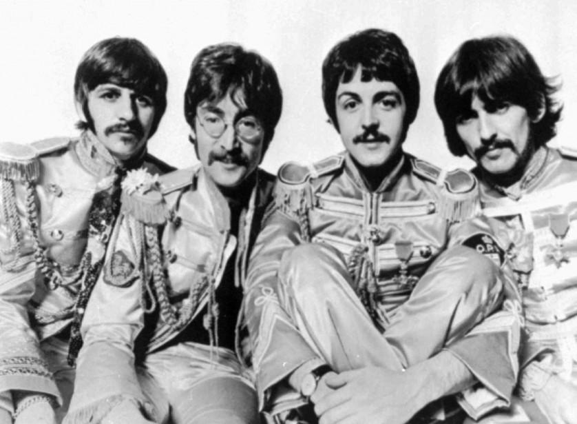 Les Beatles, en 1967.... (Photo: AP)