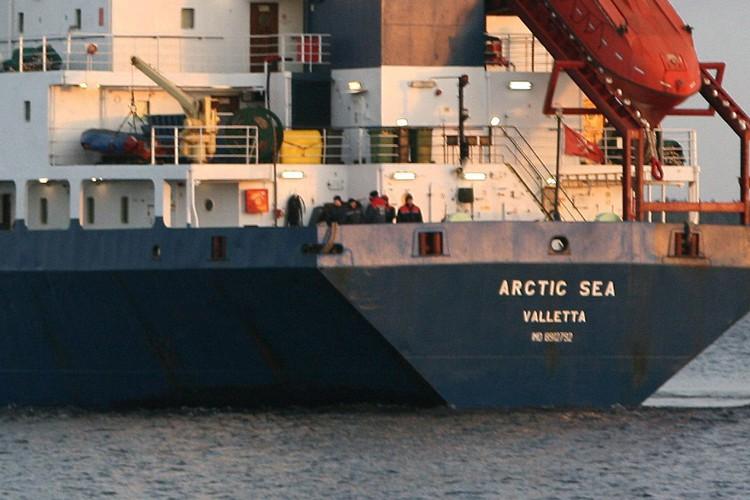 Le cargo Arctic Sea.... (Photo: AFP)