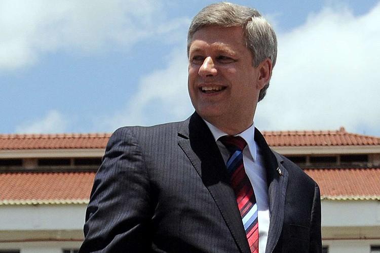Le premier ministre du Canada, Stephen Harper.... (Photo: AFP)