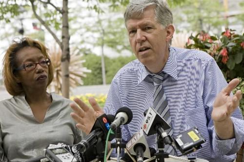 Brenda Paris et David Hanna seront candidats de... (Photo: David Boily, La Presse)