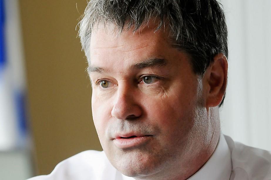Le ministre de la Santé, Yves Bolduc.... (Photo: Martin Martel, Archives Le Soleil)