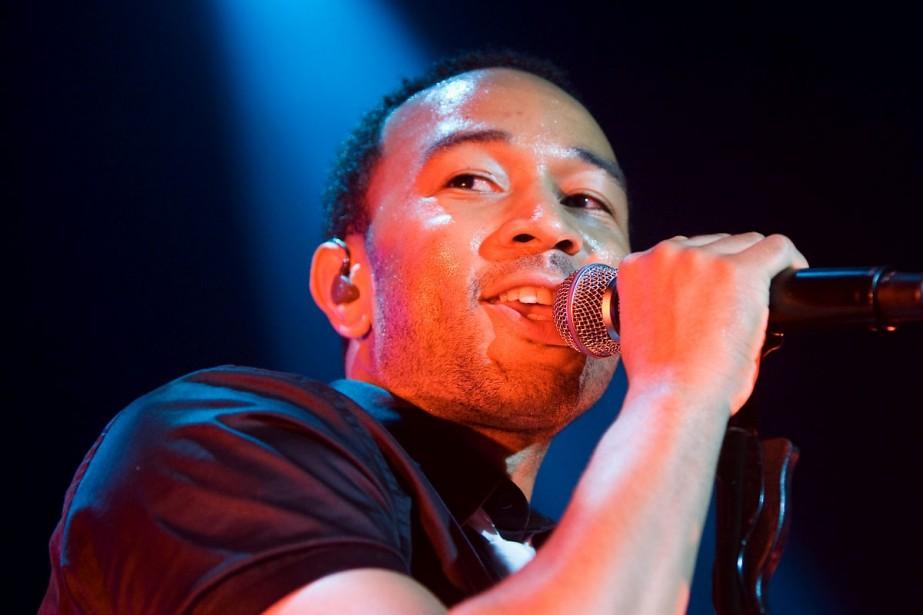John Legend... (Photo: André Pichette, La Presse)