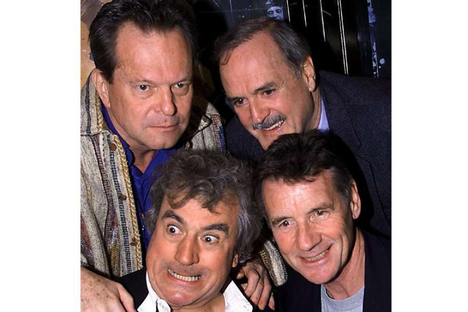 En haut, Terry Gilliam et John Cleese et... (Photo: AP)