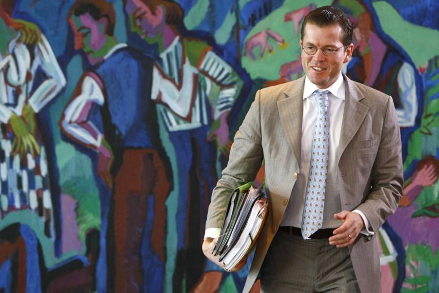 Le ministre allemand de l'Économie, Karl-Theodor zu Guttenberg.... (Photo: Reuters)