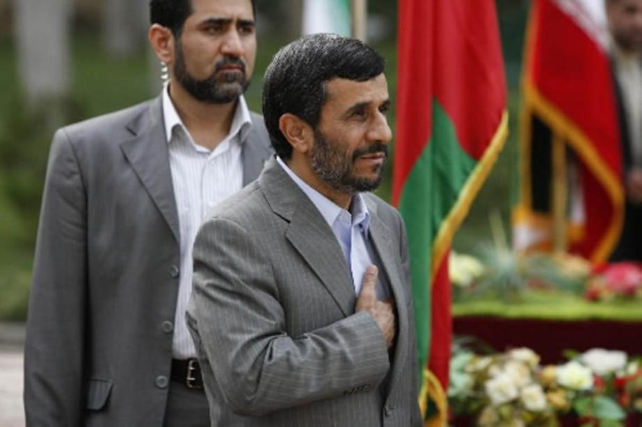 Le président Ahmadinejad avait créé la surprise dimanche... (Photo Archives AP)