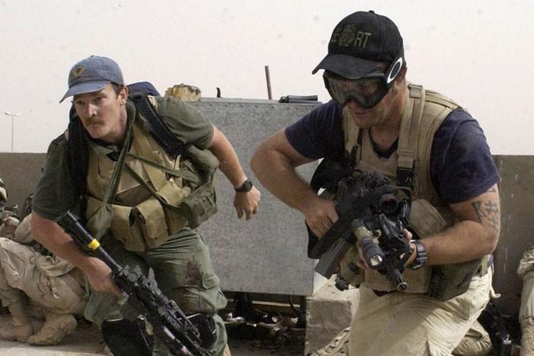 Des agents de Blackwater déployés en Irak.... (Photo: Archives AP)