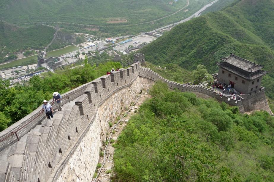 En Chine, l'ancien et le moderne se côtoient... (Photot: Gilbert Lavoie, collaboration spéciale)