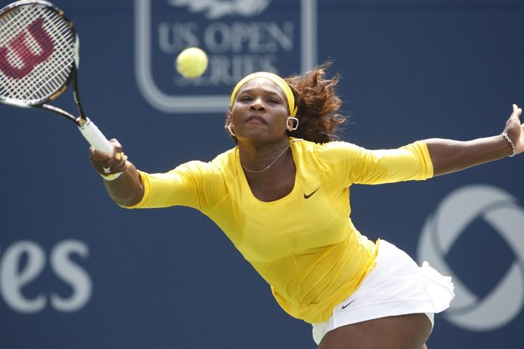 Serena Williams a facilement disposé de l'Ukrainienne Alona... (Photo: Reuters)