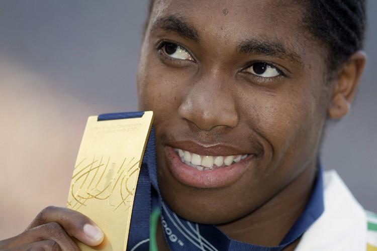 La championne du monde du 800 m Caster... (Photo: AP)