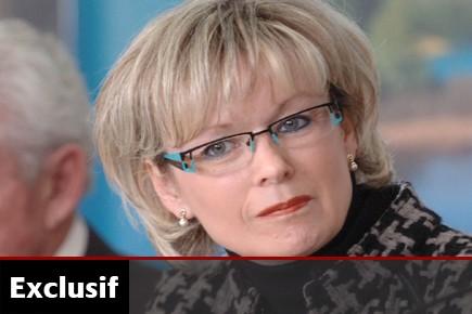 Julie Boulet... (Photo: Archives La Presse)