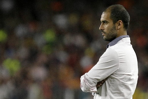 L'entraîneur du FC Barcelone Josep Guardiola... (Photo: AFP)