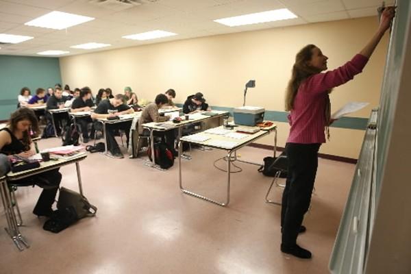 Des associations de professeurs,... (Photo: Martin Chamberland, La Presse)