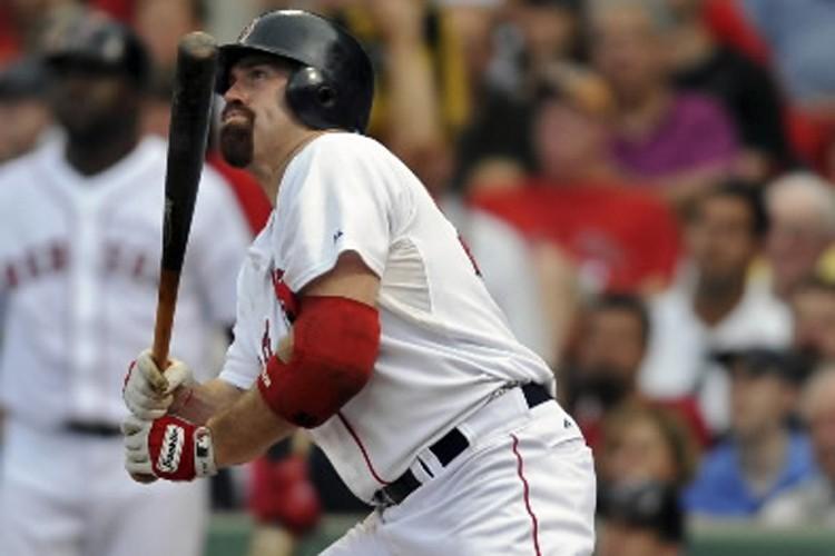 Kevin Youkilis, des Red Sox de Boston.... (Photo: Reuters)