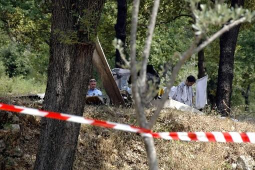 Le petit avion s'est écrasé près de la... (Photo AFP)