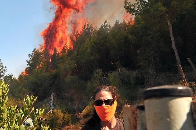 Les autorités grecques ont décrété l'état d'urgence à... (Photo: AFP)