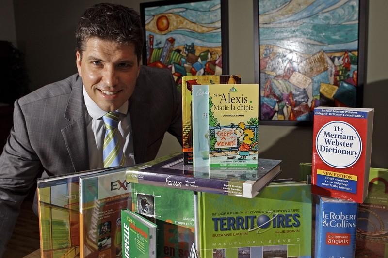 Mathieu Grondin a fondé GVG en 1998, après... (Photo Robert Mailloux, la Presse)