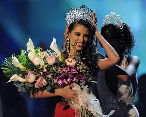 Miss Univers 2009 Stefania Fernandez... (Photo: AFP)