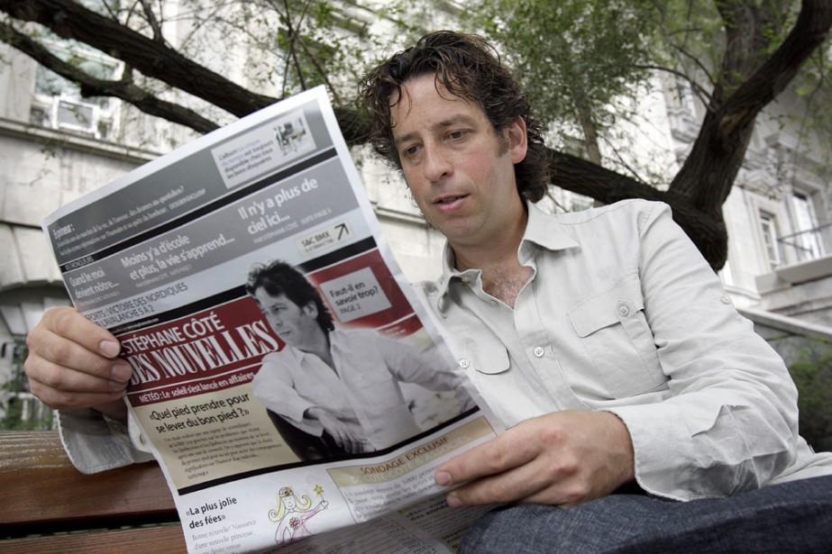 Stéphane Côté ne fait pas exprès d'aborder les... (Photo: Robert Mailloux, La Presse)