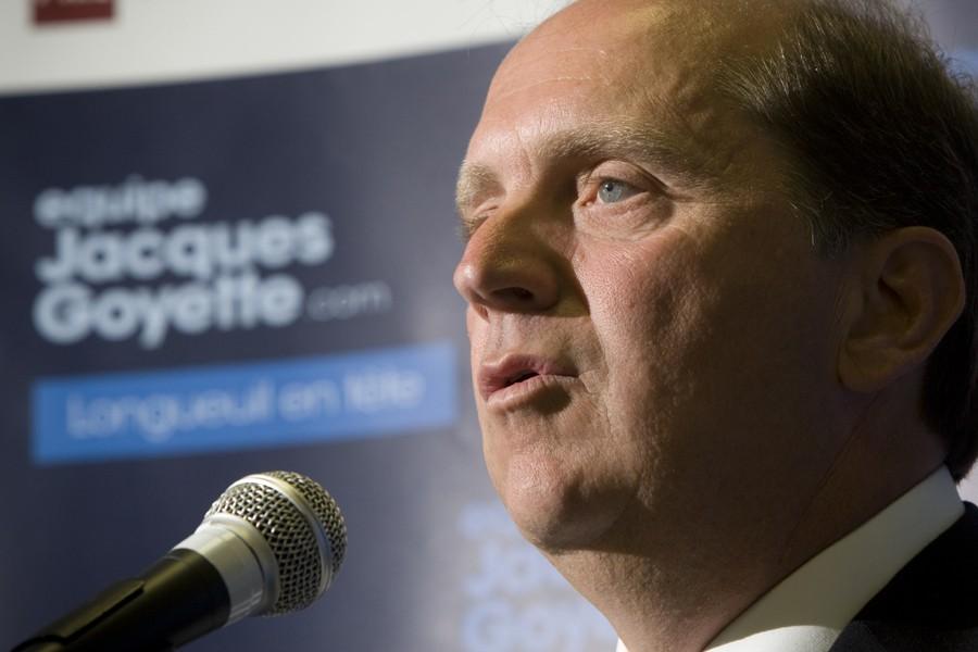 Le candidat à la mairie de Longueuil, Jacques... (Photo: André Pichette, La Presse)
