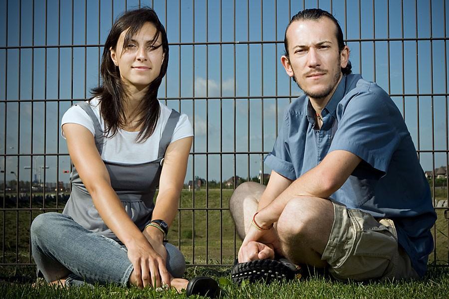 Marie-Ève Plante et Cédric Devouassoux, fraîchement diplômés en... (Photo: David Boily, La Presse)